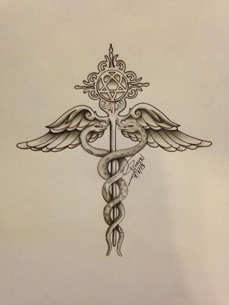 medical insignia tattoo - Google Search
