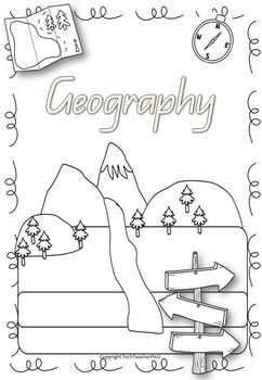 Free Geography Cover Page great Geography resource K-3!A