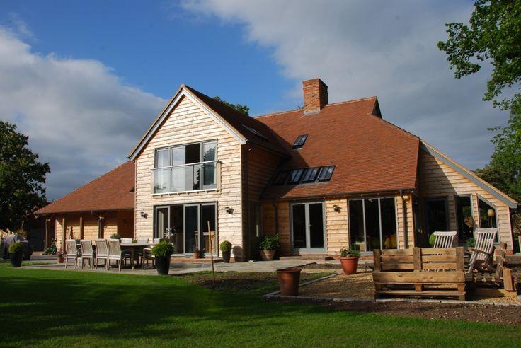 Border Oak - Large contemporary Barn style home.