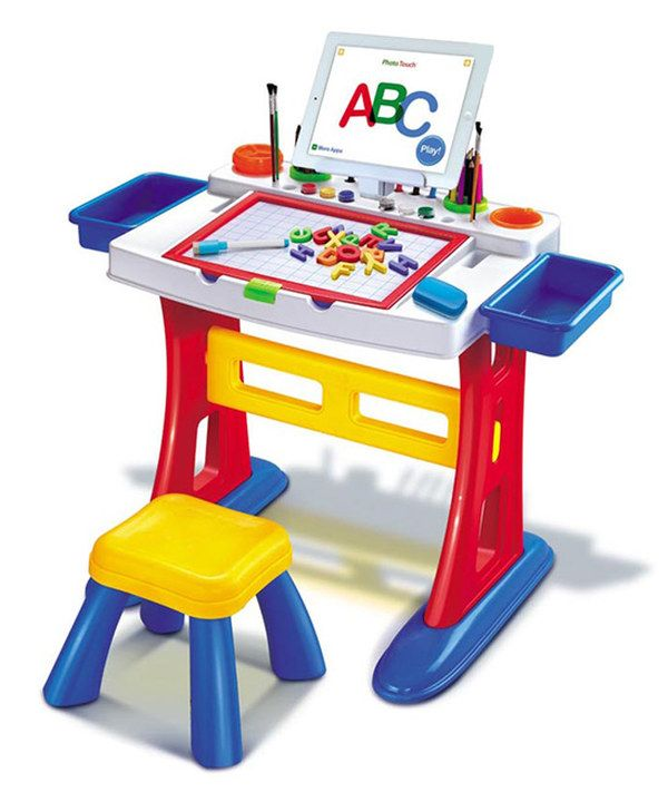 Look at this Ultimate Learning & Drawing Desk on #zulily today!