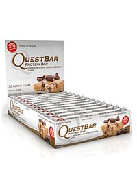 Quest Nutrition Questbar Chocolate Chip Cookie Dough. Now available on vitaminshoppe.com