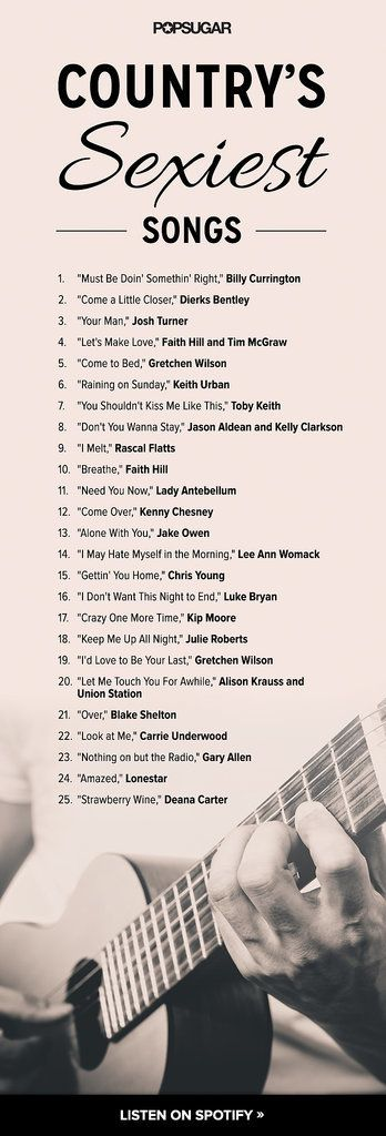 25 Sexy Country Songs For Doin' It Cowgirl Style