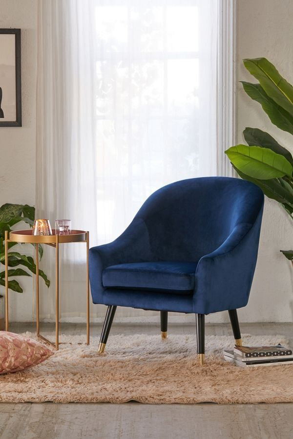 Velma Velvet Arm Chair Comfy Chairs Furniture Comfy Armchair