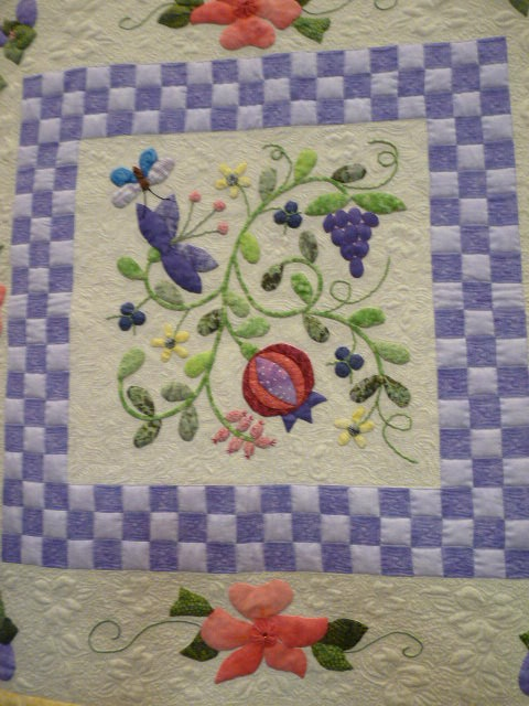 Sewing & Quilt Gallery: A Quilters' Gathering ShowAppliques Quilt Block Ref, Quilt Ideas, Applied Quilt, Blue, Sewing Quilts, Quilt Gallery, Quilt Blocks, The Block, Appliqué Block