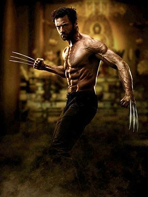 Never doubt Hugh Jackman's commitment to his work – if he has to force down a lot of bland food in order to be Wolverine, then that's what he's going to do!