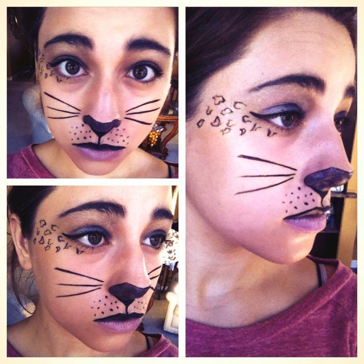 Special Effects Makeup- Cat. Halloween