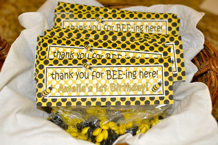 Amelia's Bumble Bee Birthday Party
