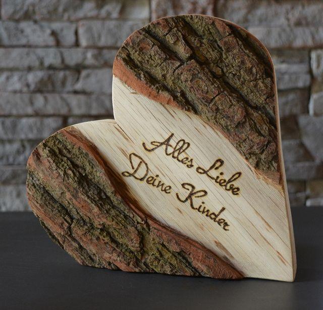 Alles Liebe zum Muttertag, 21 cm,  Holzdeko   HOLZLIEBE-ISERLOHN   Geschenke aus Holz   MADE IN GERMANY