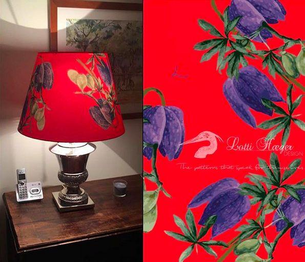 Speaking of red , look at what one of my wonderful clients did with my fabrics/ hablando de rojo , miren lo que hizo una de mis maravillosas clientes con mi tela#lottihaeger #art #arquitectura #architecture #color #colour #colorful #colors #decor #decoration #design #designer #elegant #fabric #flowers #furniture #home #homedecor #homedesign #interior #inredning #interiordesign #light #lighting #merakiudiseño #pattern #style #textiles #tropical