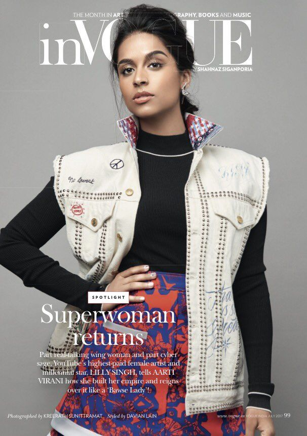 Lilly Singh (@IISuperwomanII) on Twitter
