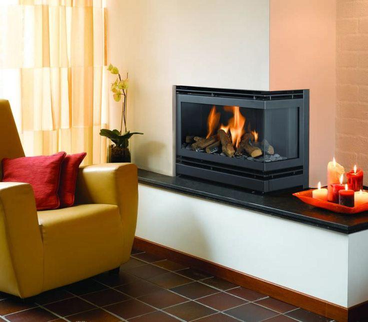 corner fireplace insert - Google-søk