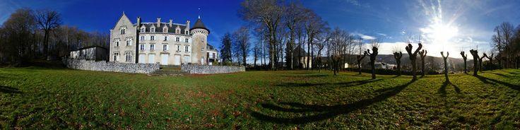 Château Tarnais du 16ème siècle transformé en gîte de groupes avec salles pour fêter vos évènements (séminaire, mariage, anniversaire...) à Lacaune-les-Bains