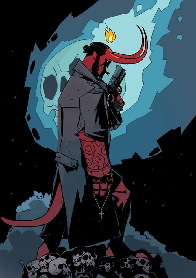 Hellboy by Otto Schmidt *