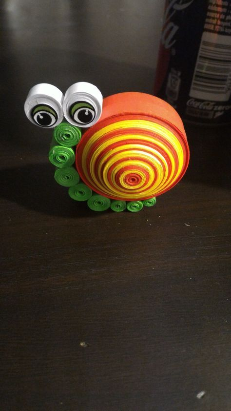 Escargot en quilling 3D