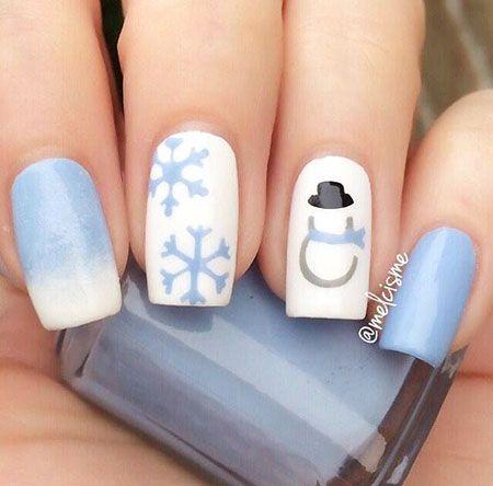 28 schöne Nail Art Ideen für den Winter