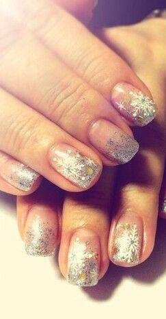 Nagellak kunst / zilver / nail art / sliver