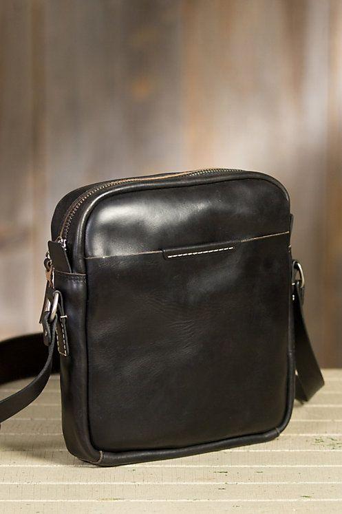 Coronado Leather Messenger Bag   Overland