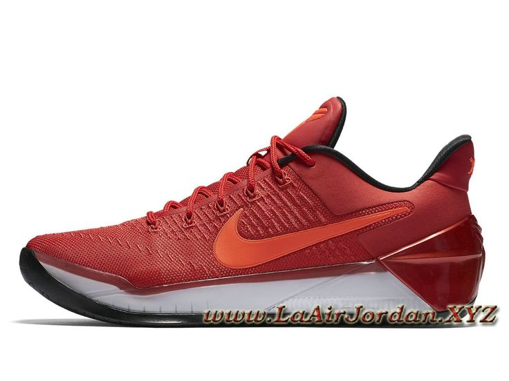 Nike Kobe A.D University Red 852425_608 Chaussures Officiel Kobe Pour Homme Rouge