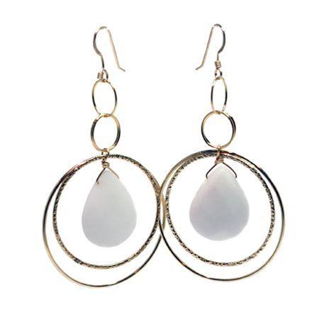 White Haven Earrings | Lisa Dora