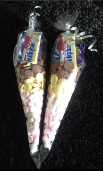 Sweet cones for younger children - The Supermums Craft Fair