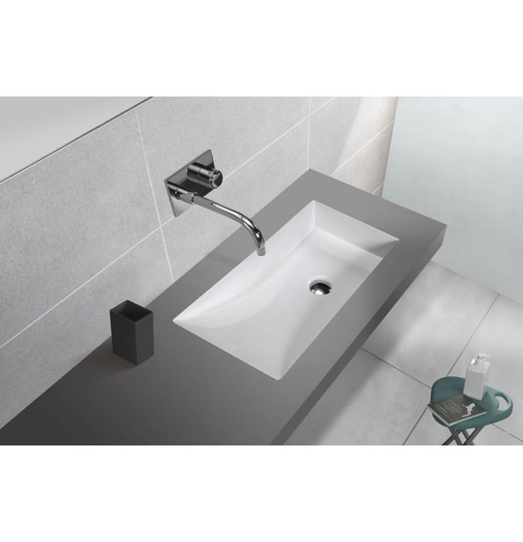 Soncera Orio Under Counter Basin Of 665 X 360 X 105 MM In White