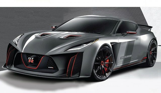 2017 Nissan GT-R R36 - front | Nissan gt-r, Nissan
