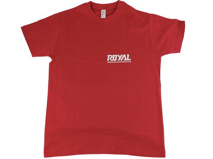 Camiseta Royal Roja Varias Tallas