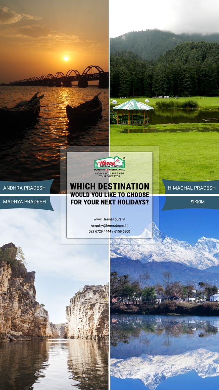 Which destination would you like to choose for your next holidays?