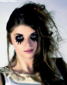 maquillaje para disfraz de angel oscuro