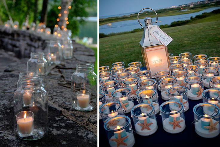 M s de 20 ideas incre bles sobre velas de t led en pinterest - Farolillos de exterior ...
