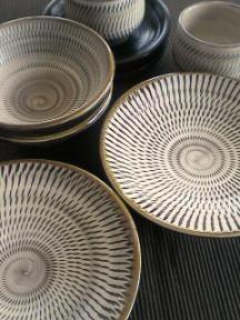 Onta-yaki pottery, Oita, Japan 小鹿田焼