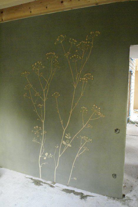 naturesystems: Rýnovice - Sgrafita v hliněných omítkách
