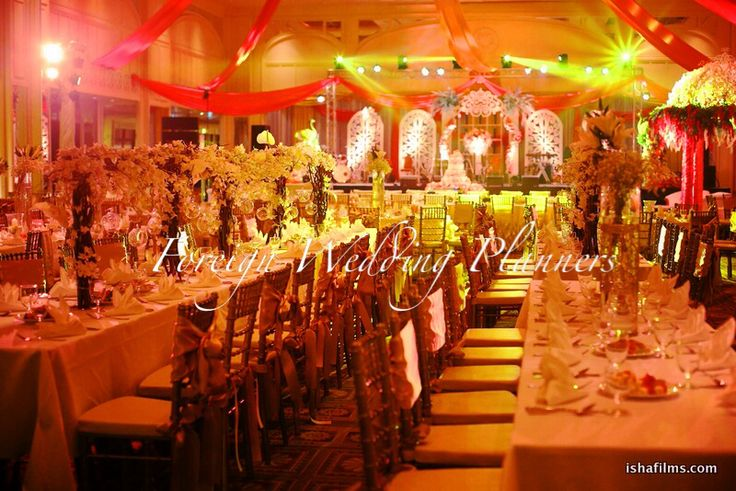Thailand wedding decor by FWP