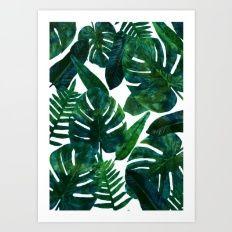 Perceptive Dream    #society6 #tropical #buyart Art Print