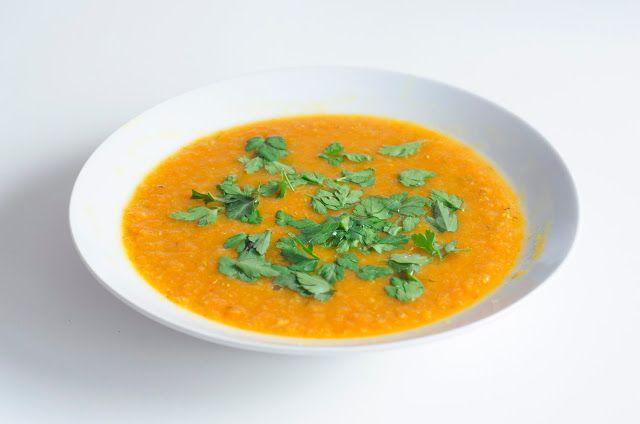 Marokkaanse wortel linzensoep (glutenvrij, suikervrij, zuivelvrij) - Miss Maesen kookt