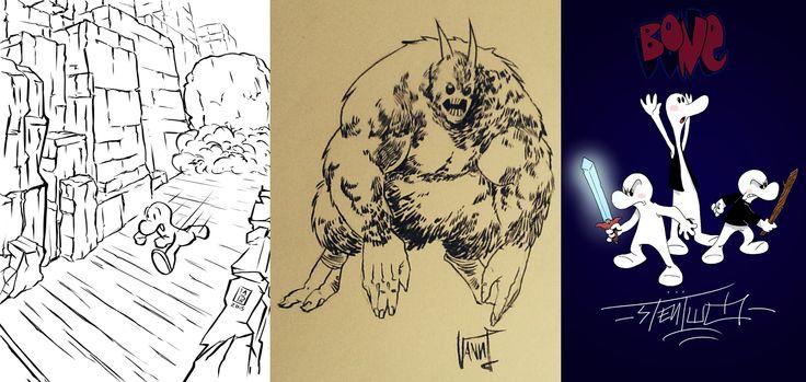 Three 4 Comic: Bone - http://c4comic.it/2015/02/11/three-4-comic-bone/