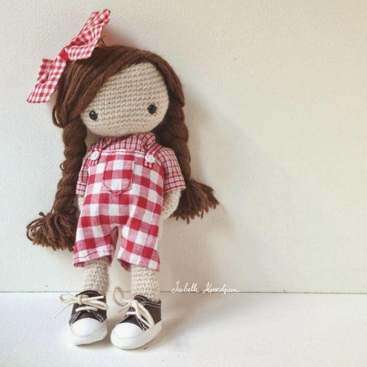 Isabelle Kessedjian: Ma poupée au crochet en Coréen.