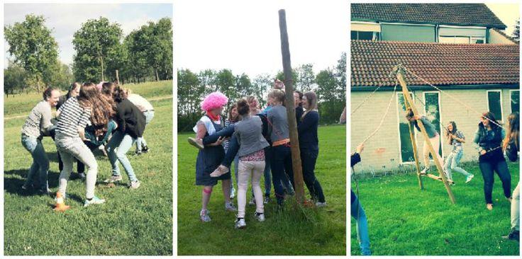Onze #outdoor #teambuilding is ook zeer geschikt om met elkaar kennis te maken tijdens een #vrijgezellenfeest!