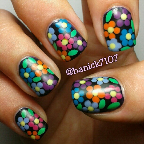 136 best nail designart flowers images on pinterest nail instagram photo by hannah ennis nail nails nailart prinsesfo Gallery