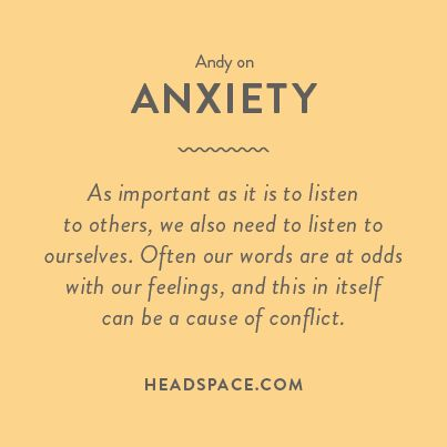 Andy on Anxiety