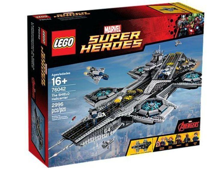 Lego Super Heroes The Shield Helicarrier UCS (76042) NIB With Rocket Racoon Poly #LegoMarvelSuperHeroes