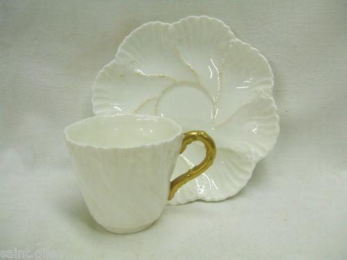 Antique Coalport Cup and Saucer: