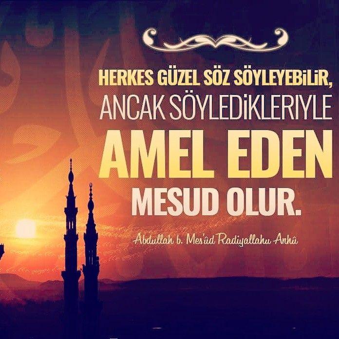 Güzel söz!  #güzelsöz #amel #söz #hayırlıcumalar #istanbul #türkiye #ilmisuffa