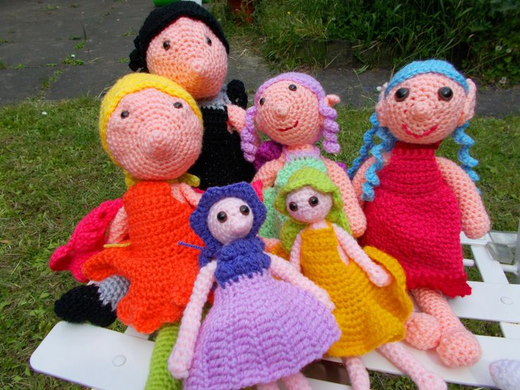 A gathering of crochet fairies - what is the collective noun for fairies?