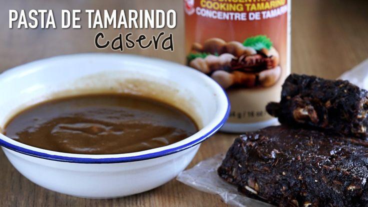 Como hacer: Pasta de tamarindo casera l How To Make Homemade Tamarind Paste