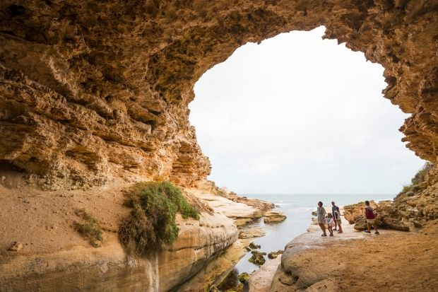 Woolshed Cave, Talia, on the Eyre Peninsula.