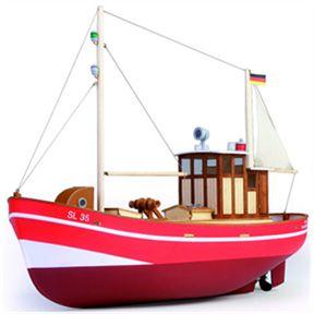 Graupner Anja SL 35 RC Fishing Cutter Kit