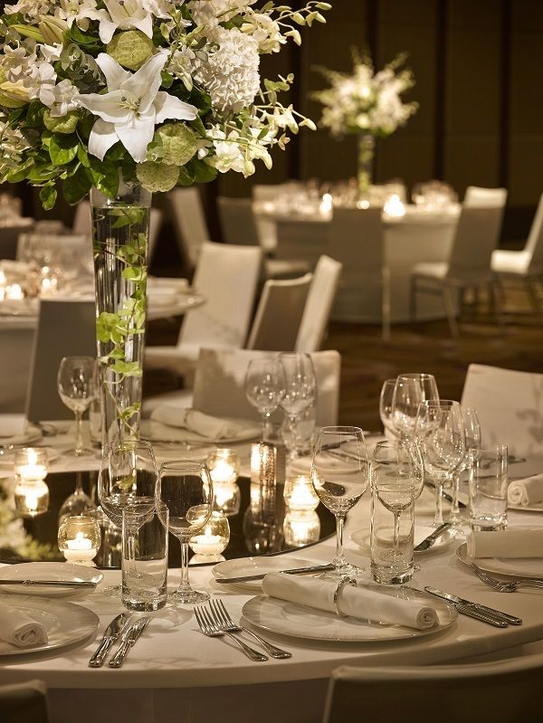 A dream wedding at Grand Hyatt Taipei surrounded by elegance, exquisiteness and perfection.