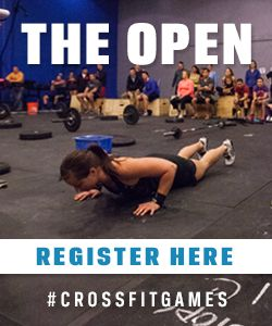 Register for the #CrossFit Open | #CROSSFITGAMES info provided by #TheShoeMart