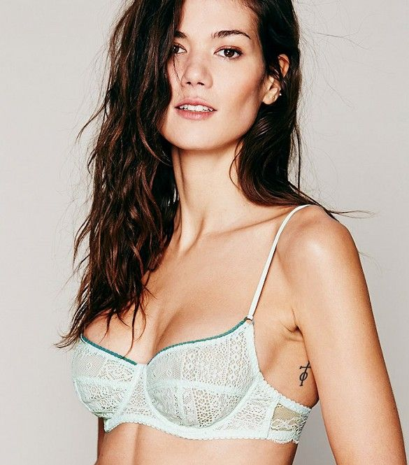 The Most Expensive-Looking Lace Bras Under $50 via @WhoWhatWear